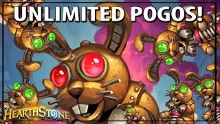 (Hearthstone) Trying To Make The Biggest Pogo