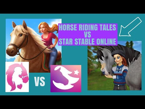 HORSE RIDING TALES VS STAR STABLE ONLINE!