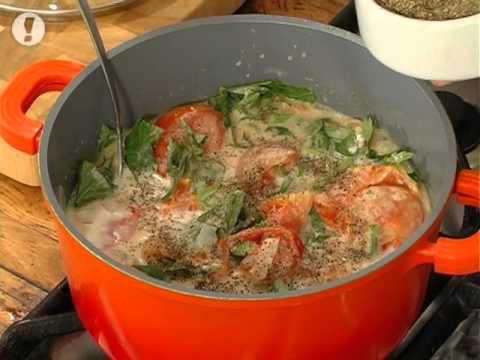 מתכוני סוגת: מרק עגבניות תאילנדי ואורז