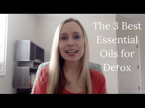 The Three Best Essential Oils for Detox