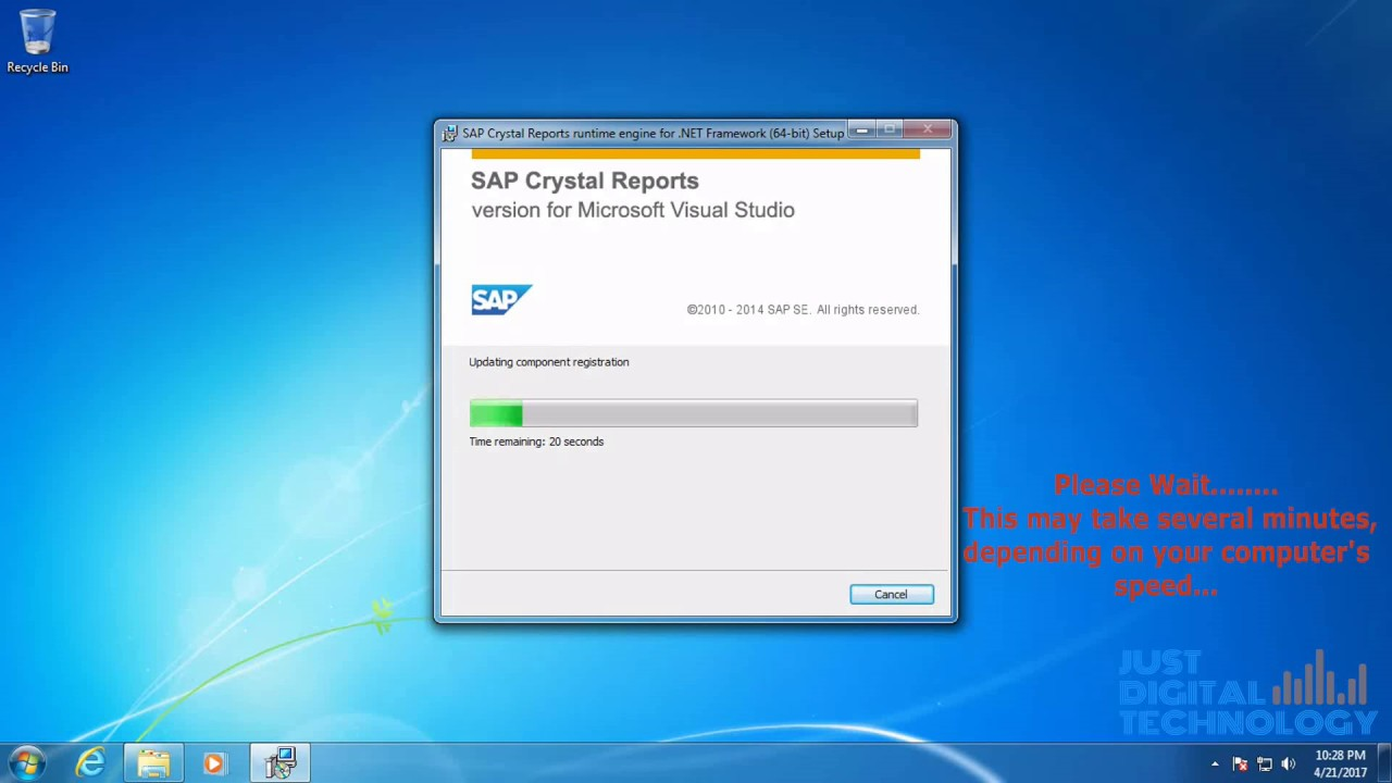 crystal report runtime download free