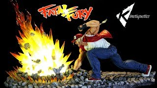 Terry Bogard Fatal Fury Diorama by Kinetiquettes