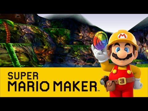 Jungle Japes (Donkey Kong 64) - Super Mario Maker - YouTube