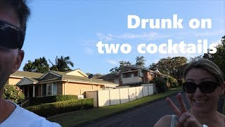 Drunk on two cocktails
