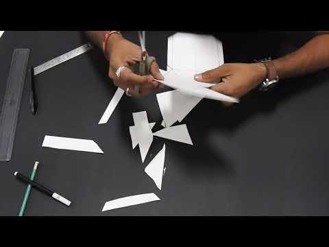NID Studio Test   3D Paper Modelling Video