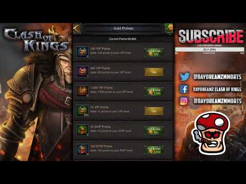EARN SVIP POINTS 50% FASTER - AWESOME TRICK !!! - Clash Of Kings
