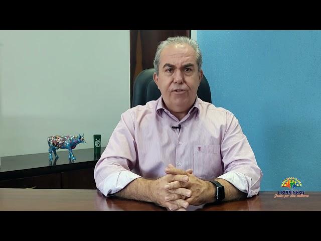 PREFEITO MORRINHENSE JOAQUIM GUILHERME BUSCA APOIO DE CONGRESSISTAS