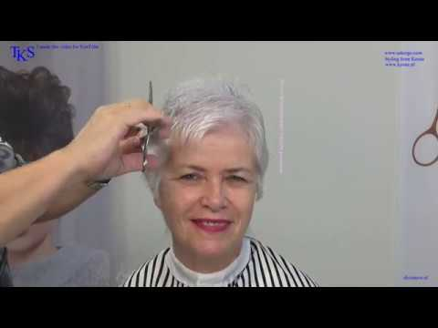 Just Cut me the Shortest Pixie Hairstyle! Tos and her scissor-over-comb tutorial by TKS thumbnail