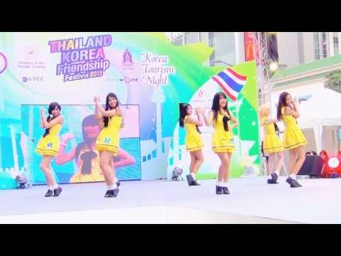 131124 PinkPanther cover Apink - Lovely Day + NoNoNo(노노노) @Thailand Korea Friendship Festival 2013