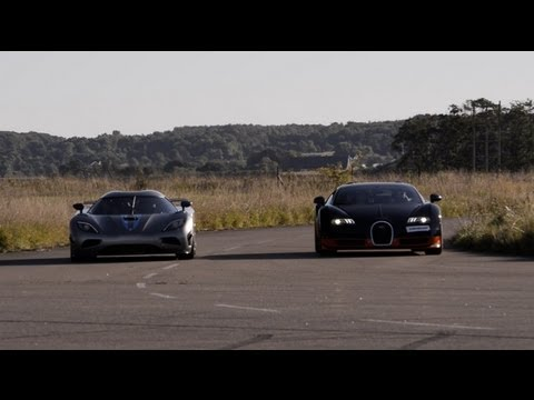 1200 HP Bugatti Veyron Vitesse Koenigsegg Agera R x 4 races