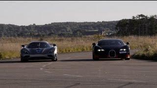1200 HP Bugatti Veyron Vitesse vs Koenigsegg Agera R x 4 races