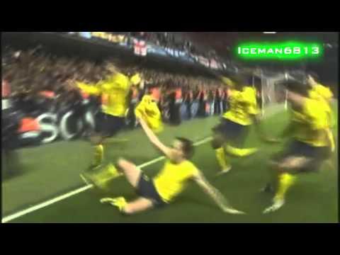Chelsea 1-1 FC Barcelona - Iniesta goal (2009.05.06.)
