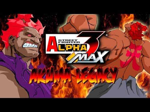 SHIN AKUMA vs. THE WORLD - Akuma Legacy: Street Fighter Alpha 3 Max