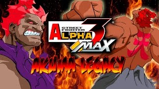 SHIN AKUMA vs. THE WORLD - Akuma Legacy: Street Fighter Alpha 3 Max