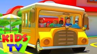 버스의 바퀴   어린이동요   유치원 동영상   Kid…