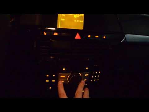 Настройка даты и времени на магнитоле CD 30 MP3 Opel Astra