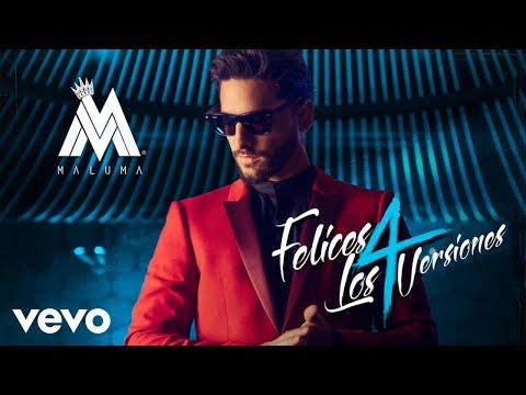 Download Youtube: Maluma - Felices los 4
