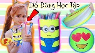 Làm Đồ Dùng Học Tập Siêu Dễ - School Supplies DIY
