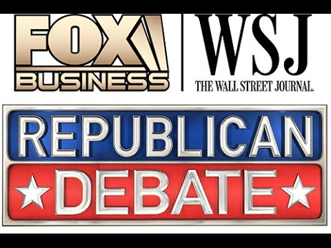 (FULL VIDEO) Republican FBN Debate 11 10 2015