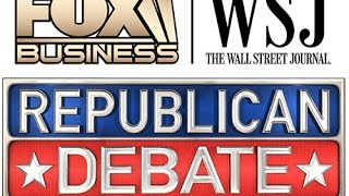 (FULL VIDEO) Republican FBN Debate 11 10 2015