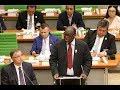 Moustapha Niasse, Président de l'Assemblée Nationale du Sénégal, lors du lancement du IPTP
