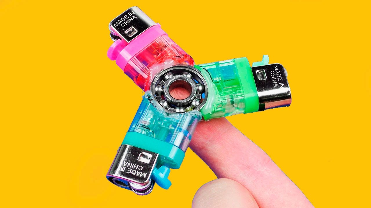 How to Make a Lighters Fidget Spinner
