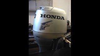 Хонда 90 Honda 90 2006 рік тест запуск компанія Аквацентр ДВ