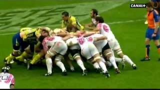 Tries in France 2011 2012 day 10 Stade Français - Clermont