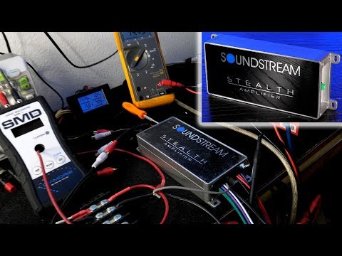 Soundstream ST4.1000D Stealth Amplifier - 1,000W MAX????