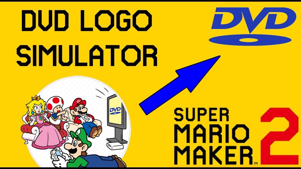 Dvd Logo Simulator Super Mario Maker 2 Youtube