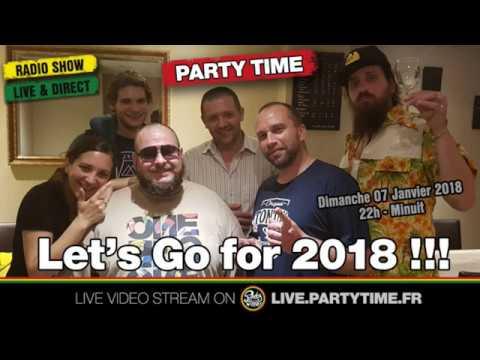 PODCAST - C'est la rentrée pour le Party Time Reggae Radio show - 07 JAN 2018