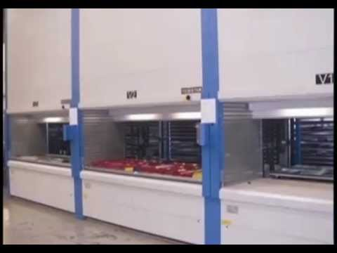 Superieur Automated Vertical Storage Units For Parts ASRS | Maximize Tool Crib Floor  Space