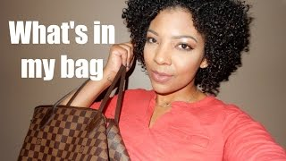 Whats in my bag | Louis Vuitton Neverfull GM