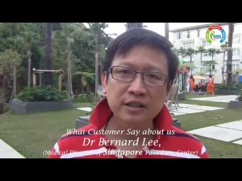 Testimoni   Dr Bernard Lee, Medical Director of Singapore Pain Care Center