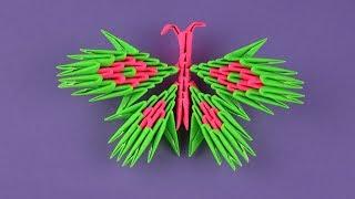 как сделать бабочку из модульного оригами
