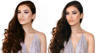 GLAM GRWM: NIGHT OUT WITH BAE  (HAIR & MAKEUP TUTORIAL) | Hannah Renée