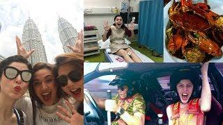 Malaysia Girls Trip|| Part 1 || KL~Ipoh~Penang