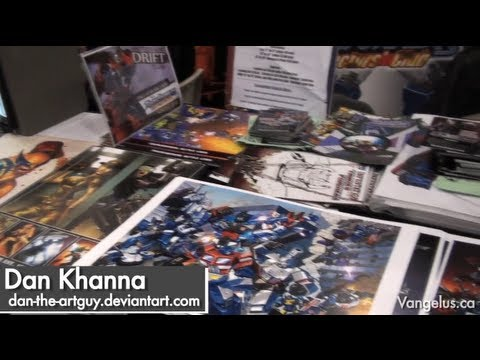 NYCC 2011 - Artists Alley (with Dan Khanna - Transformers, IDW, Fun Publications) - Oct 15