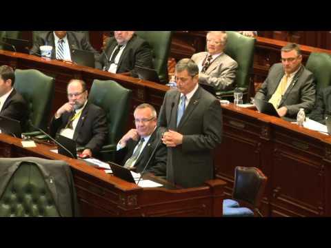 Illinois House millionaire tax debate