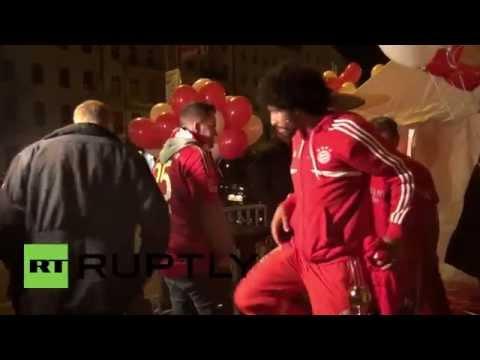 Germany: Bayern Munich parties all night after victory at Bundesliga