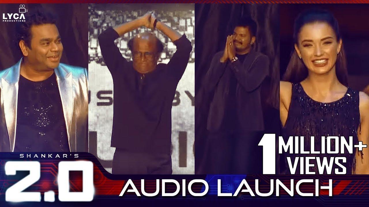 2.0 Audio Launch | Rajinikanth, Akshay Kumar | Shankar | A.R. Rahman ...