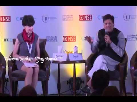 Piyush Goyal Exposes/Nails Double Standards Of America/West On Renewable Energy In A Conversation