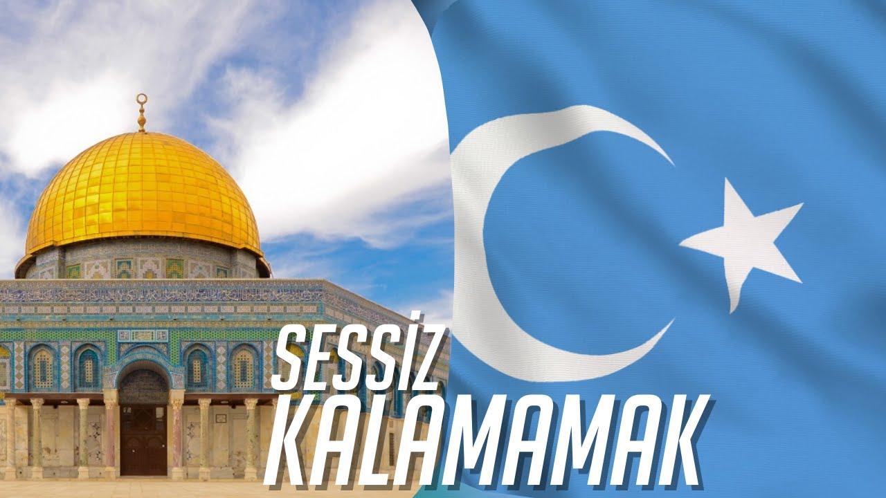 Kudüs, Doğu Türkistan İçin Sessiz Kal(a)mamak.. #yks #kudüs #doğutürkistan