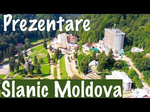 Prezentare Slanic Moldova - Sinaia Moldovei. Filmare din drona.