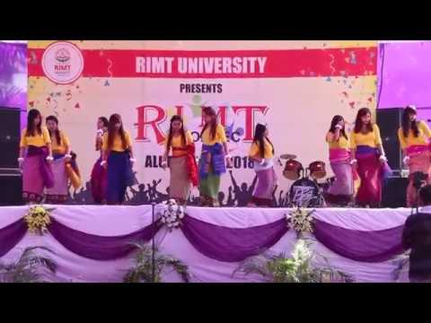 Manipuri traditional dance fusion song at Punjab.