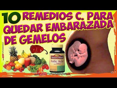 a2815847b CÓMO QUEDAR EMBARAZADA DE GEMELOS con estos 10 remedios caseros ...