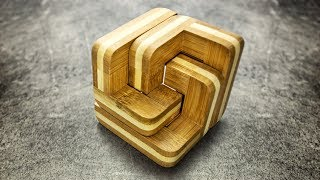 Bamboo Stairs puzzle. Easy, but looks cool.