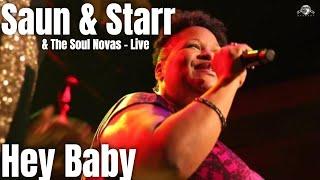 Saun & Starr (Daptone Records) - Hey Baby - Live @ The Beatclub (Dolhuis)