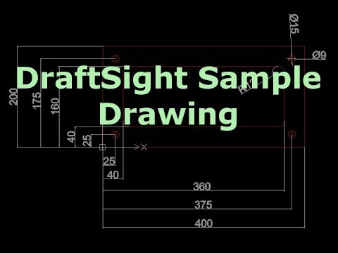 DraftSight Dimensions - Dimension drawing in DraftSight!
