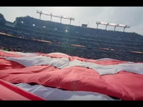 Huge Stadium Sized American Flags by Colonial Flag Featured on NFL Films